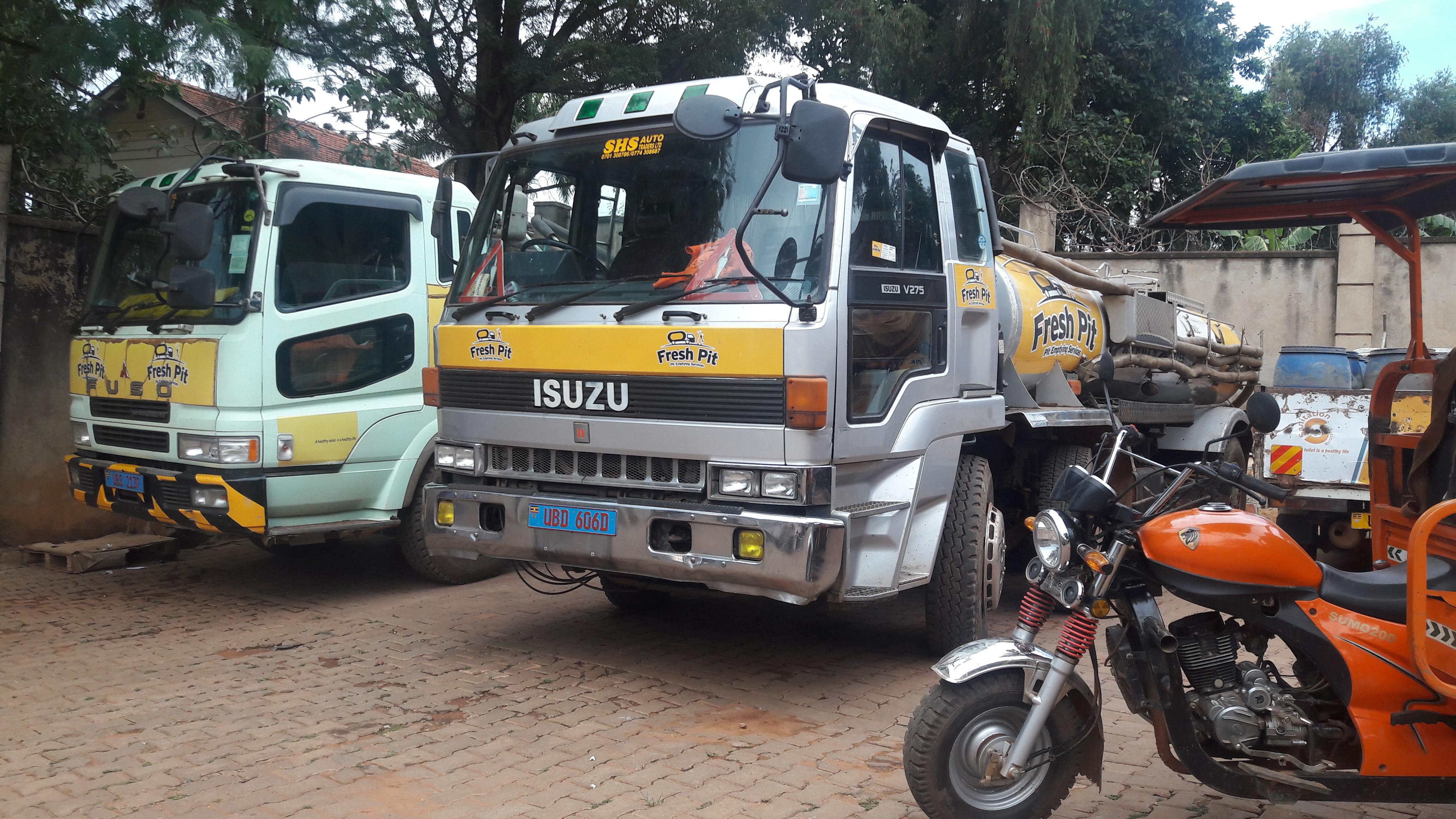 Fresh Pit Cesspool trucks Uganda